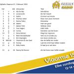 Ida de Nijs blijft ook deze week op de 1e positie staan! #familyradio #vlaamse15