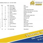 Moviestar op nummer 1 in onze VLAAMSE15! #familyradio #vlaamse15